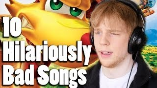 10 Hilariously Bad Songs in Video Games - Nitro Rad