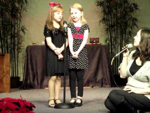 Girls Singing the Gift Goes On