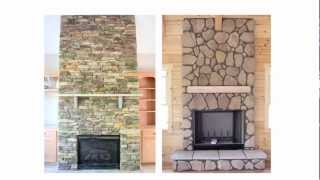 Fireplace Stone  - Stone Veneer And Stone Facades Make The Look!