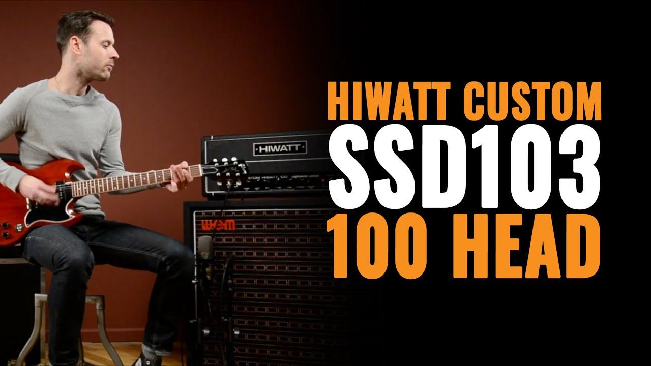 Hiwatt Custom 100 Head