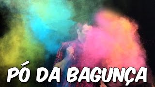 Aprenda a fazer pó colorido para festa (gulal)