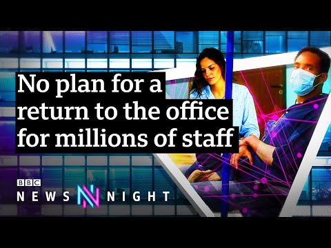 When will Britain's workers return to the office? - BBC Newsnight
