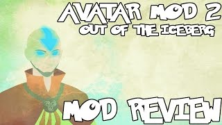 MASTER THE ELEMENTS! || Avatar Mod 2 Out Of The Iceberg Mod Review (Minecraft Avatar Mod)