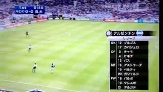 WorldCup Argentina Japan ワールドカップ 日本対アルゼンチン