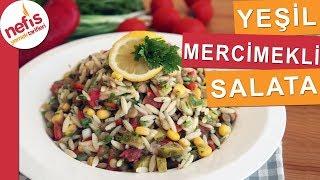 Şehriyeli Yeşil Mercimek Salatası - Çok lezzetli bir salata tavsiye ederiz :)