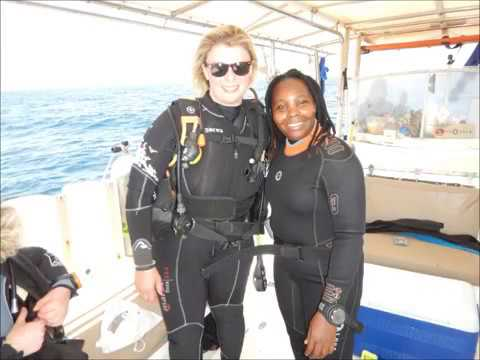 DIVE MASTER TRAINEE FROM KENYA - girl child mentor - Analyzing EANx - 32%