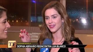 Sophia Abrahão  e Sergio Malheiros em entrevista para o TVFama, falam sobre carreira!