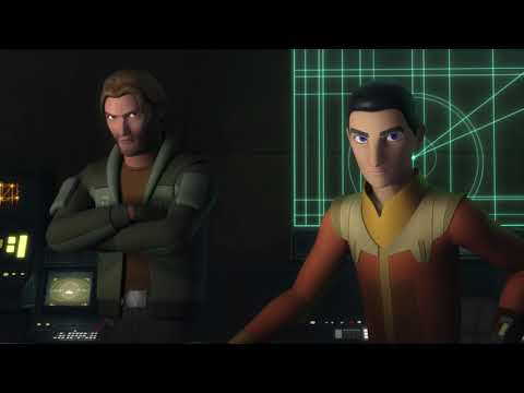 Star Wars Rebels | S4E3 | The Ghost meets up with Kallus on Yavin 4 |