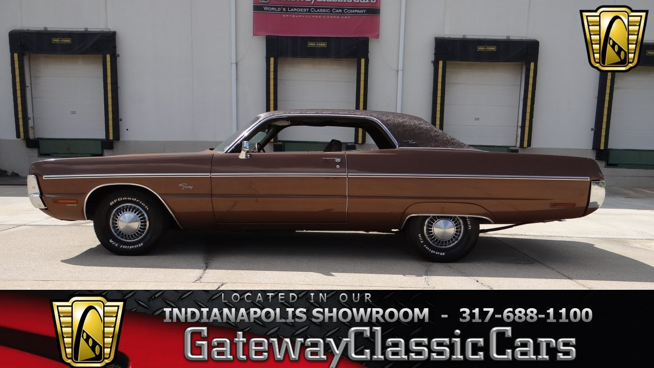 1971 Plymouth Fury Iii Gran Coupe Gateway Classic Cars