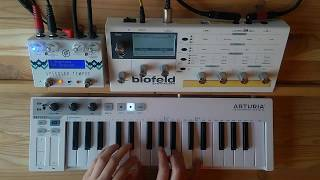 The Night Above The Clouds - Ambient Synth Jam (Blofeld, Specular Tempus, Keystep)