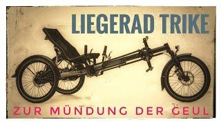 Liegeradtour 🔴 Zur Mündung der Geul mit Hase Bikes Kettwiesel Evo Steps 🔴 Ostbelgien Video