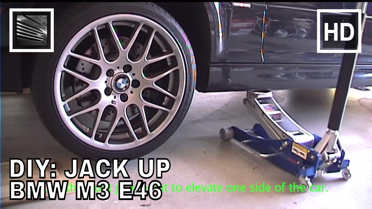 Diy Jack Up Bmw M3 E46 Youtube
