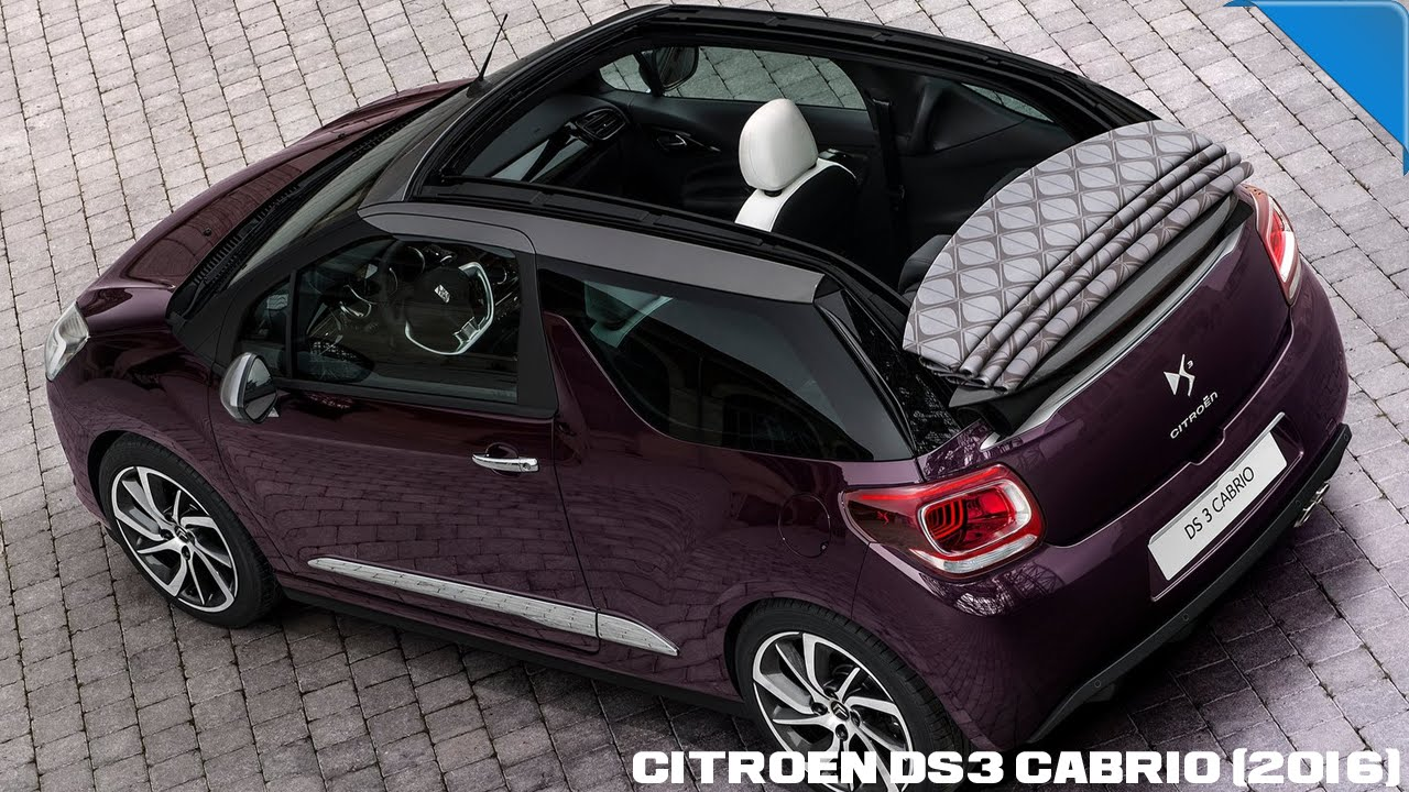 Bmw 730 Citroen Ds3 Cabrio Daihatsu Cast Sport Fiat 500c 2016 Youtube