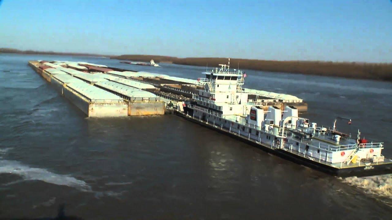 Bill Ingram Ingram Barge Aerial Footage Largest Barge Youtube