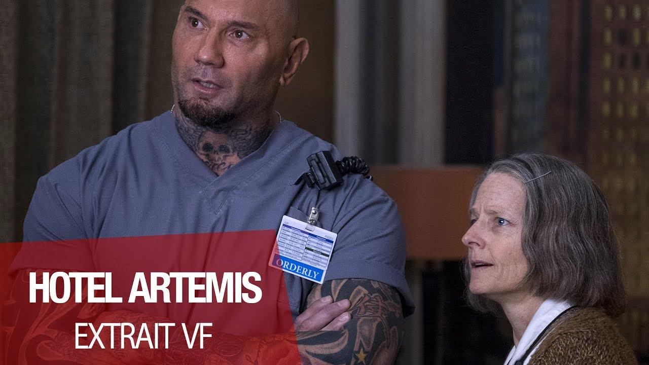 """HOTEL ARTEMIS - Extrait """"Vérifiez votre adhésion"""" VF"""