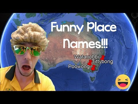 FUNNY PLACE NAMES SONG: AUSTRALIA