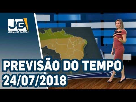 Previsão do Tempo – 24/07/2018