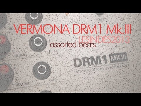 Vermona DRM-1 Mk3 // analog drum synthesizer