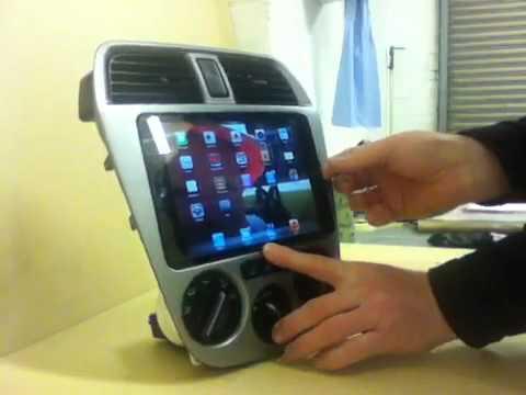 Ipad Mini Float Mount Subaru Impreza Youtube