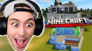 Rakensin mun MINECRAFT-talon Simsissä!