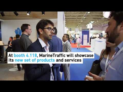 MarineTraffic at Posidonia 2018 - The world's leading mariti