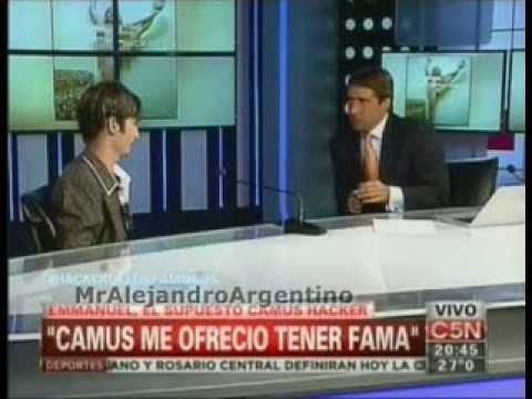 Camus Hacker con Eduardo Feinmann || El Diario || C5N