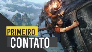 Uncharted O Legado Perdido PS4- Primeiro Contato! Aqui Tem Mulher Porradeira  #Uncharted #NAUGTHDOG