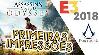 REAGIMOS A ESTA NOVA ODISSEIA! - Assassin's Creed Odyssey #UBIE3