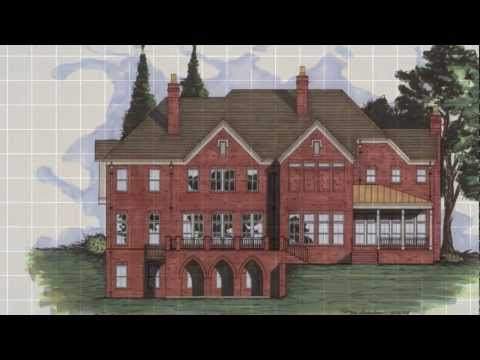 The Serlio - Gothic Revival House Plan: Design Evolutions