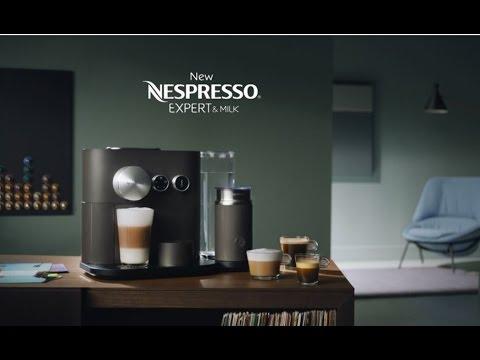 New Nespresso Expert - How to Video - Aeroccino Milk Preparation