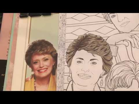 Color & Chat - The Golden Girls Color Book | February 2017