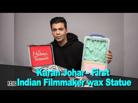 Karan Johar - First Indian Filmmaker wax Statue in Madame Tussauds