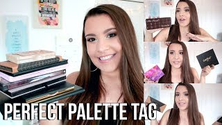 PERFECT PALETTE TAG 2017 | Jackie Ann