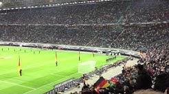 Deutschland - Georgien 2015 in Leipzig EM Quali Mannschaftsaufstellung