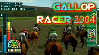 Gallop Racer 2004 Playstation 2 Gameplay Walkthrough Horse Racing Games For PS2 Commentary Day 49