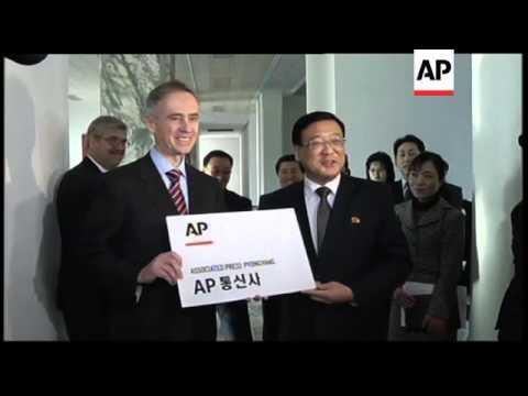 The Associated Press opens its newest bureau