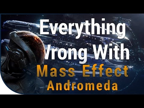 GAME SINS | Everything Wrong With Mass Effect: Andromeda