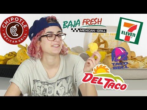 Fast Food Nacho Taste Test