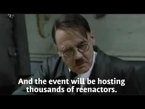 Hitler reacts to reenactors being banned by D Day Ohio Staff (RE-UPLOAD)