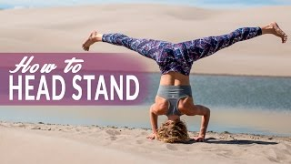 How To Supported Headstand Pose or Salamba Sirsasana with Sarah Kline
