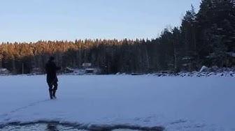 Jääkävely Heikoilla jäillä 2014