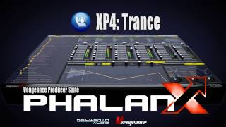 Vengeance Producer Suite - Phalanx XP4: Trance Vol 1 Demo