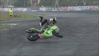 СТРАШНАЯ АВАРИЯ НА МОТОГОНКАХ/ TERRIBLE CRASH ON THE MOTORACING