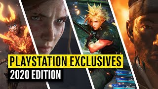 10 PlayStation Exclusives You Need To Play in 2020