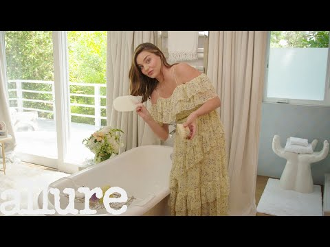 Miranda Kerr's Luxurious Bathroom Tour  Allure