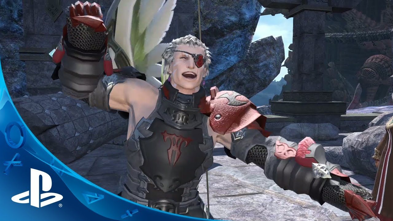 Final Fantasy XIV: A Realm Reborn – PS4-traileri