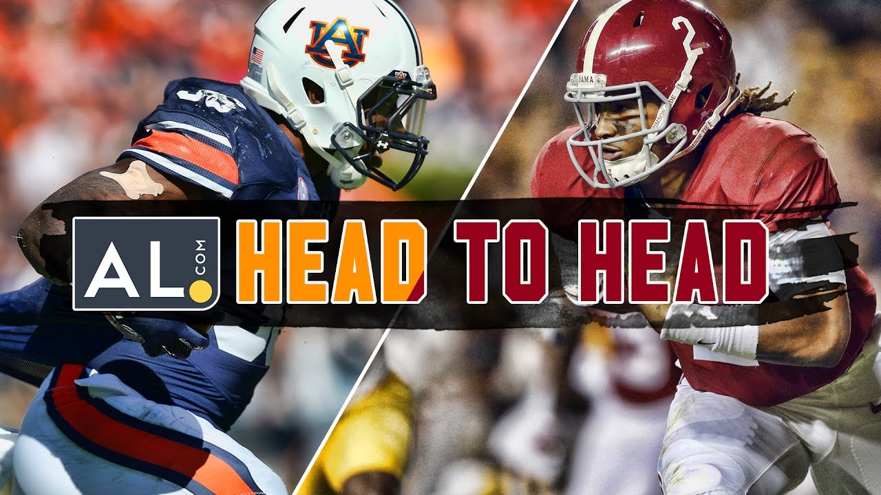 Head To Head Auburn Vs Alabama 2016 Prediction Show