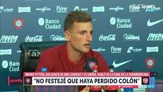 El ejemplar mensaje de Pittón tras la derrota de Colón en la Sudamericana