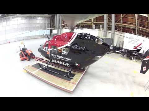 360 Degree View of BK117 in Hangar at Griffiss