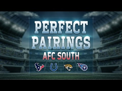 AFC South NFL Draft Perfect Pairs Picks | Move the Sticks | NFL